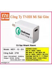 Củ sạc XIAOMI 27W- MDY-10-EH ,Quick Charge 4.0
