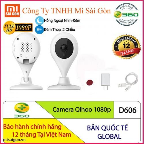 Camera Qihoo 1080P Hồng Ngoại D606