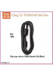 Cáp Micro USB Xiaomi 2A - Đen