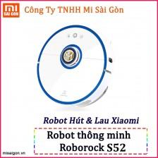 Robot hút bụi, lau nhà Mijia Roborock Gen 2 - S52 Xanh Inter Milan