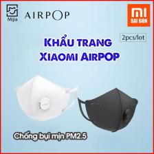 Bộ 2 Khẩu trang Xiaomi AirPOP Chống bụi min PM2.5 - Đen