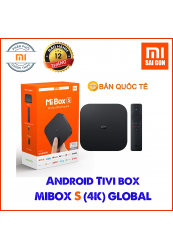 Android TV Box Mibox S (4K) Quốc Tế