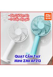 Quạt Mini ZMI AF213 Sạc USB 3 Chế Độ (2600mAh)