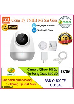 Camera Qihoo 360 độ 1080p Full HD D706