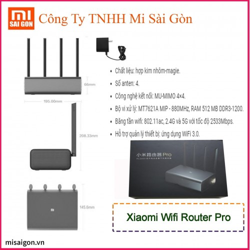 Router Wifi Xiaomi Pro