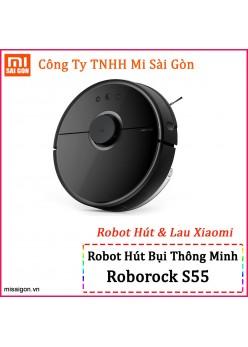 Robot hút bụi, lau nhà Mijia Roborock Gen 2 - S55 Đen