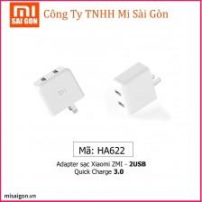 Củ sạc Xiaomi ZMI 2 USB - Quick Charge 3.0 HA622