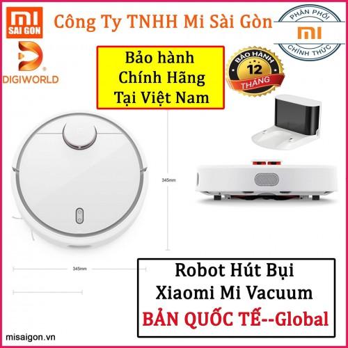 Robot hút bụi Xiaomi Mi Vaccum (DGW) - Bản quốc tế