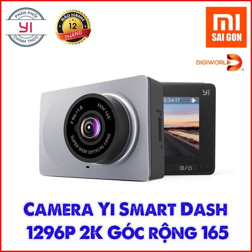 Camera Hành Trình Yi Smart Dash Xám C10 (DGW) - BẢN QUỐC TẾ