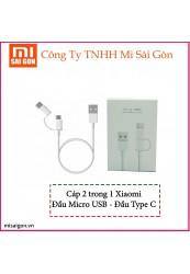 Cáp ZMI Micro USB – Type-C
