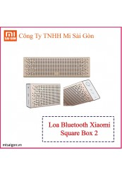 Loa dài Square Box - Gold