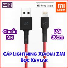 Cáp ZMI USB Lightning AL823( Dài 30cm) - Đỏ