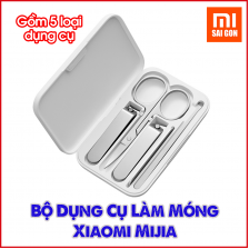 Bộ Dụng Cụ Làm Móng Xiaomi Mijia ( Bộ 5 dụng cụ )