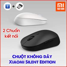 Chuột không dây 2 chuẩn kết nối Xiaomi Mouse Silent Edition (2020)