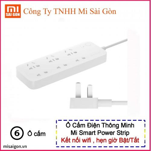 Ổ cắm hẹn giờ 6 cổng- Xiaomi Smart Power Strip