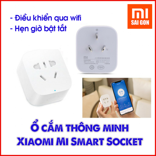 Ổ cắm hẹn giờ - Mi Smart Socket