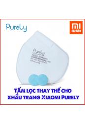 Tấm lọc thay thế cho Khẩu trang Xiaomi Purely