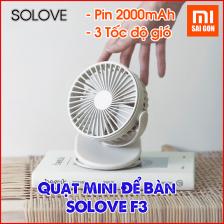 Quạt Mini Để Bàn Xiaomi SOLOVE F3