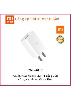 Adapter Sạc 1 Cổng 10W Xiaomi ZMI AP611 - Hàng Chính Hãng