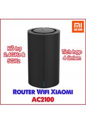 Router Wifi Xiaomi AC2100 - Đen