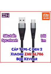 Cáp Siêu Bền Gen 2 Type-C Xiaomi ZMI AL706 - Dài 1m